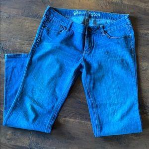 Bullhead juniors medium wash jeans flare denim